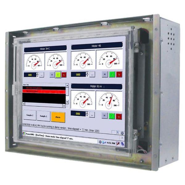 21-Front-right-R08IB3S-OFU1 / TL Produkt-Welten / Panel-PC / Open Frame (Einbau von hinten) / ohne Touch-Screen