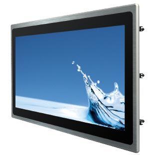 01-Front-right-W22IK3S-PPA3 / TL Produkt-Welten / Panel-PC / Panel Mount (Einbau von vorne) / Multitouch-Screen, projiziert-kapazitiv (PCAP)