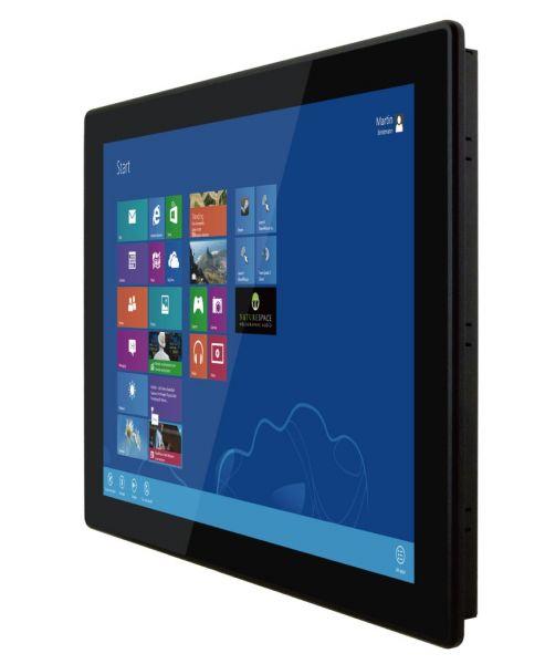 01-Front-right-R19IBWS-MHA1 / TL Produkt-Welten / Panel-PC / Panel Mount (Einbau von vorne) / Multitouch-Screen, projiziert-kapazitiv (PCAP)