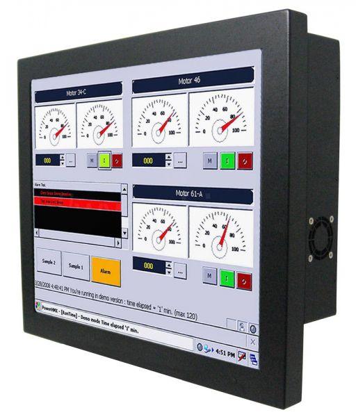 Front-right-WM 15-IH70-CH-PRS / TL Produkt-Welten / Panel-PC / Chassis (VESA-Mounting) / Touch-Screen für 1-Finger-Bedienung
