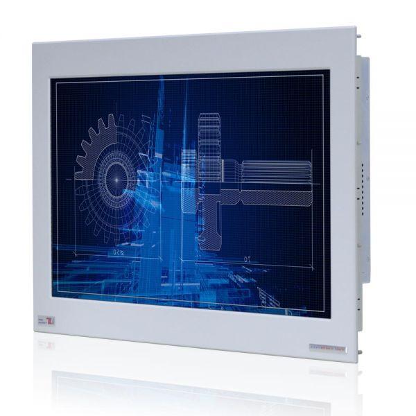 01-Front-right-WM22WPMA-IP65 / TL Produkt-Welten / Panel-PC / Panel Mount (Einbau von vorne) / ohne Touch-Screen