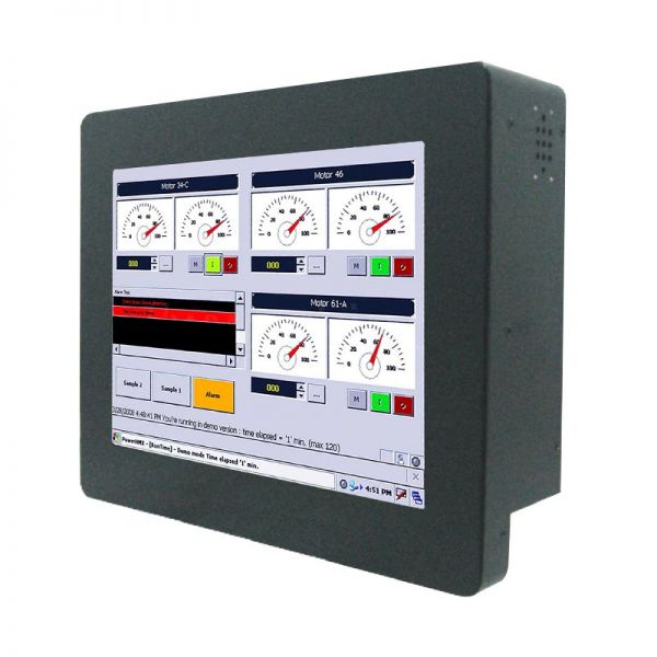 01-Front-right-R08IB3S-CHU1 / TL Produkt-Welten / Panel-PC / Chassis (VESA-Mounting) / Touch-Screen für 1-Finger-Bedienung