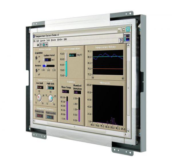 Front-right-WM 15-VDP-OF-PRU / TL Produkt-Welten / Industriemonitor / Open Frame (Einbau von hinten) / Touch-Screen für 1-Finger-Bedienung