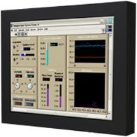 01-Front-right-WM 12-V-WT-CH / TL Produkt-Welten / Industriemonitor / Chassis (VESA-Mounting) / Touch-Screen für 1-Finger-Bedienung