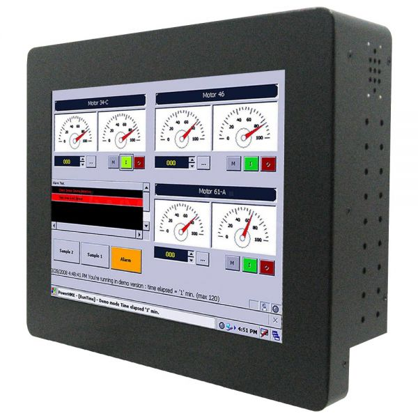 01-Front-right-R10IB3S-CHP1 / TL Produkt-Welten / Panel-PC / Chassis (VESA-Mounting) / Touch-Screen für 1-Finger-Bedienung