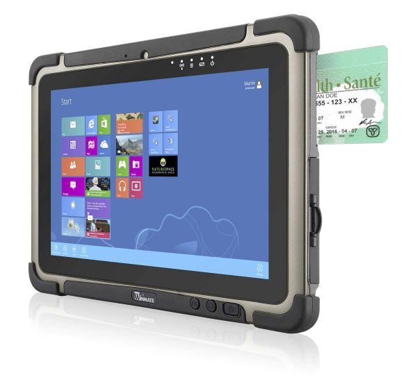 01-Front-right-M101BT / TL Produkt-Welten / Mobile Computing / Rugged Industrial Tablets