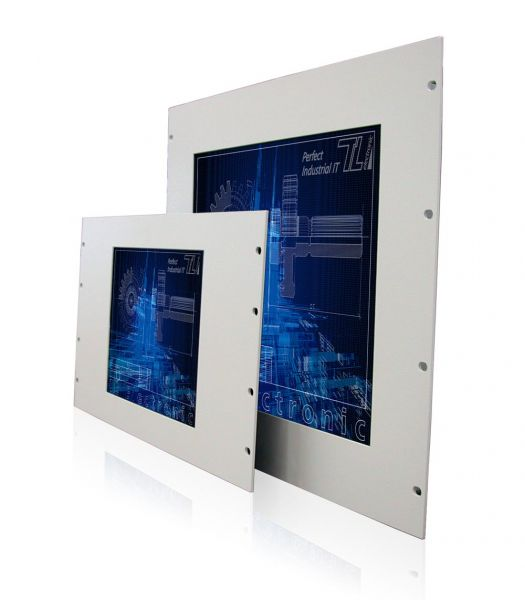 11-Front-right-WM12-6HE+WM17-9HE / TL Produkt-Welten / Panel-PC / 19-Zoll Rack Mount / Touch-Screen für 1-Finger-Bedienung