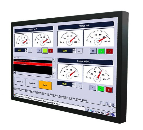 01-Chassis-Industrie-Panel-PC-W22IF7T-CHA3 / TL Produkt-Welten / Panel-PC / Chassis (VESA-Mounting) / Touch-Screen für 1-Finger-Bedienung