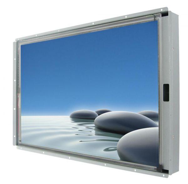 Front-right-WM 27W-VDP-OF-GSU / TL Produkt-Welten / Industriemonitor / Open Frame (Einbau von hinten) / Touch-Screen für 1-Finger-Bedienung