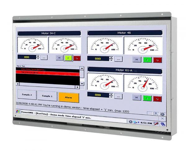 21-Front-right-W15L100-OFA2 / TL Produkt-Welten / Industriemonitor / Open Frame (Einbau von hinten) / Touch-Screen für 1-Finger-Bedienung