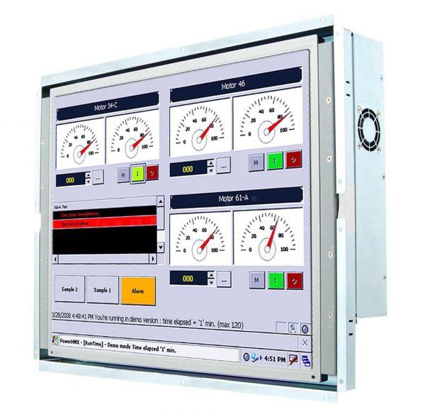 21-Front-right-R15IB7T-OFC3 / TL Produkt-Welten / Panel-PC / Open Frame (Einbau von hinten) / Touch-Screen für 1-Finger-Bedienung