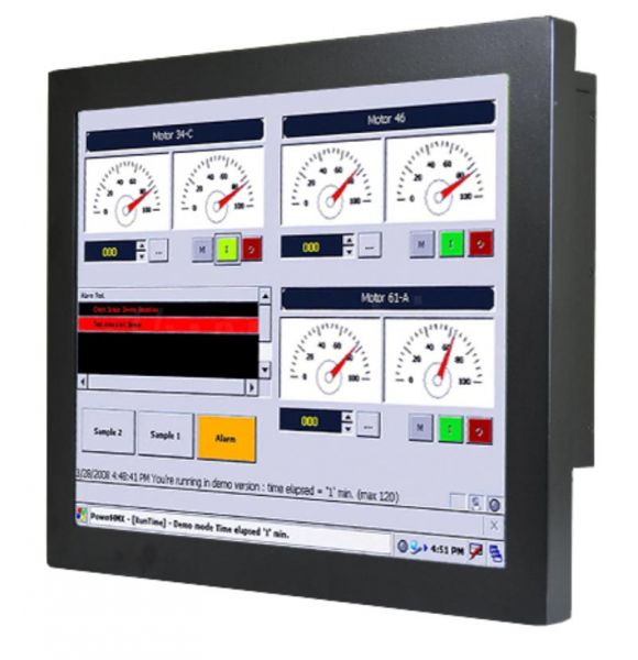 Front-right-WM 17-IB70-CH-PRS / TL Produkt-Welten / Panel-PC / Chassis (VESA-Mounting) / Touch-Screen für 1-Finger-Bedienung