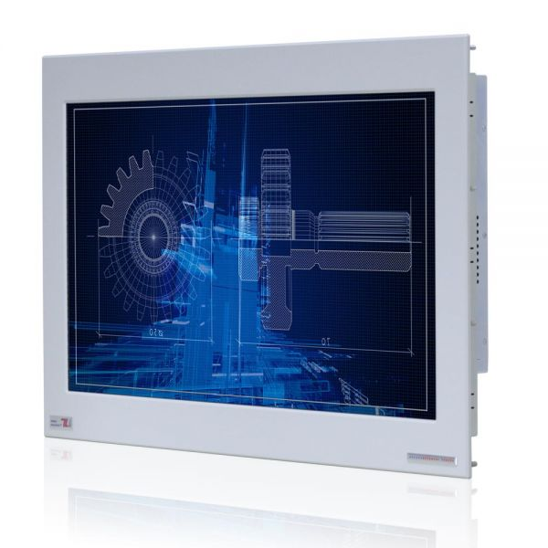01-Industrie-Panel-PC-WM22PMA-IP65-Einbau/ TL Produkt-Welten / Panel-PC / Chassis Edelstahl (VESA-Mounting / Touch-Screen für 1 Finger-Bedienung